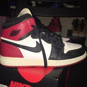 Jordan 1 Retro Black Toe (2016) GS